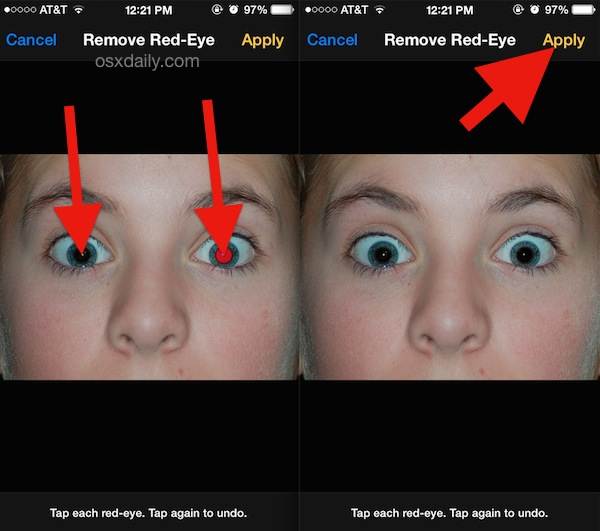 red eye remover iphone ios 7 tips and tricks page 21 15952