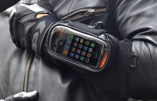 iBike iPhone  holder