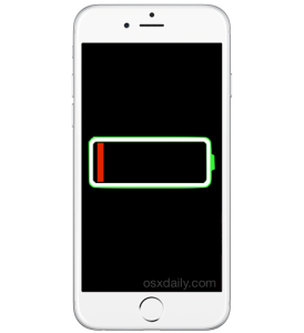 iPhone battery percentage indicator not updating or stuck, possible fix