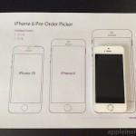 Printable iPhone 6 size helper