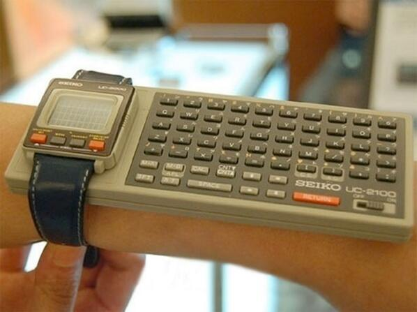 Seiko UC-2100 iWatch Obviously