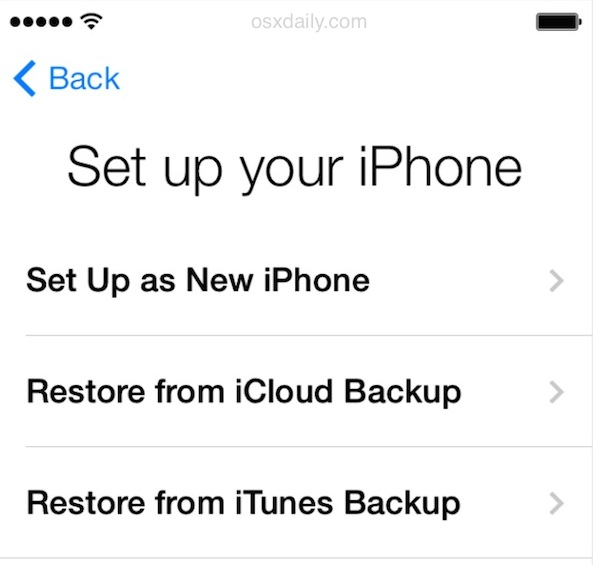 setting up new iphone how to migrate everything from an iphone to iphone 6 8015