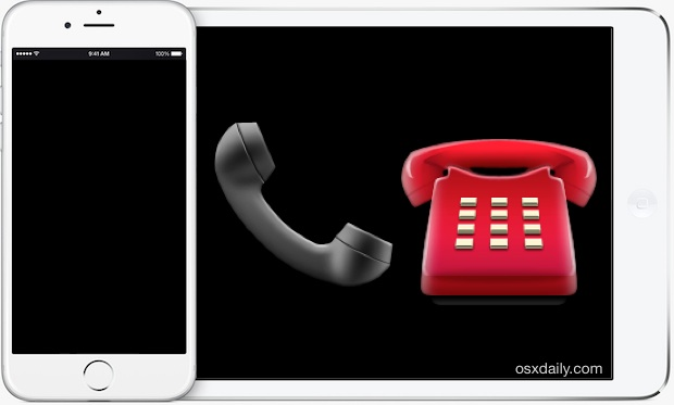 Stop devices ringing with iPhone calls