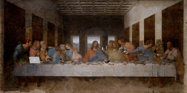 the-last-supper-with-apple-devices