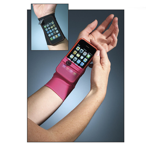 iPhone wrist sock