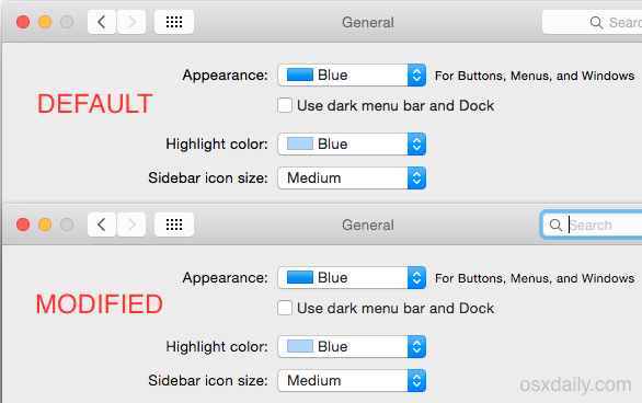 Change the font smoothing setting in OS X Yosemite