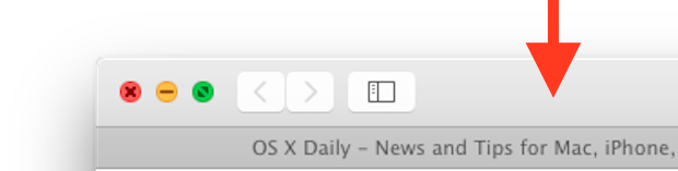 Double-click to maximize a window in Mac OS X