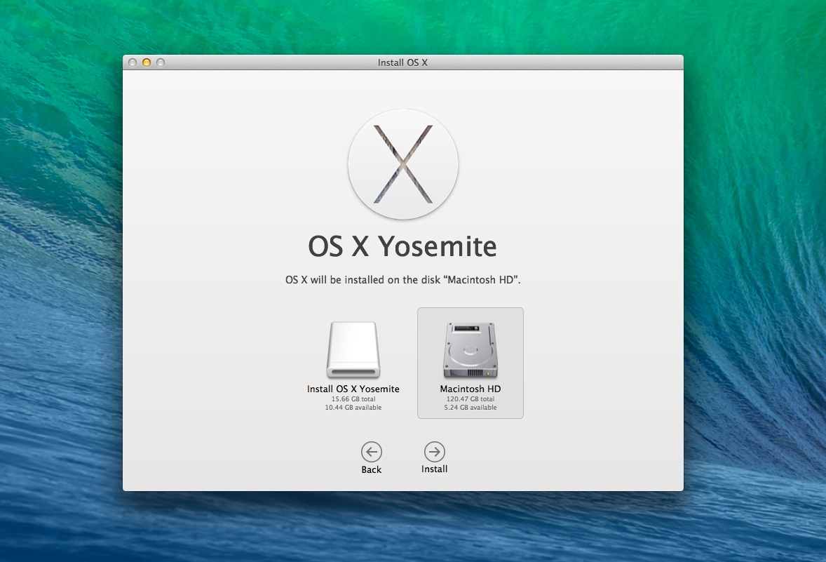 HACKINTOSH OS X POUR WINDOWS TÉLÉCHARGER SOUS YOSEMITE 10.10 MAC