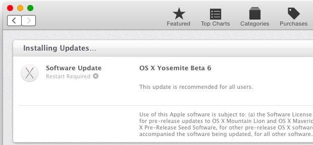 OS X Yosemite Public Beta 6