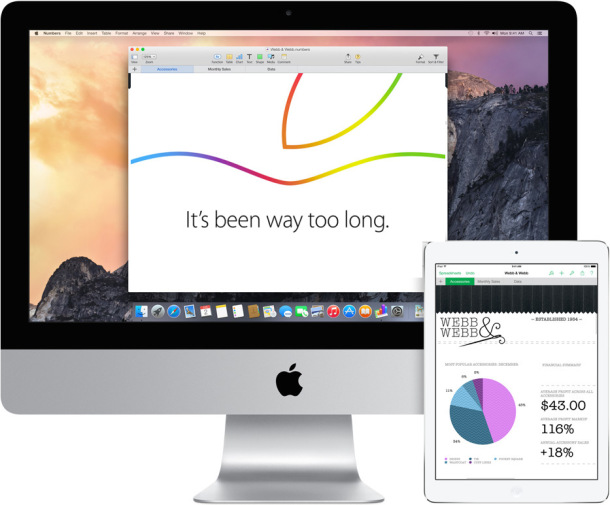 Retina iMac and New iPad expected