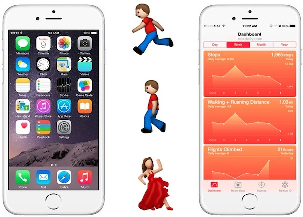 Track steps and movement with iPhone Health app
