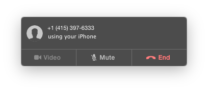 Calling a phone number from Mac OS X