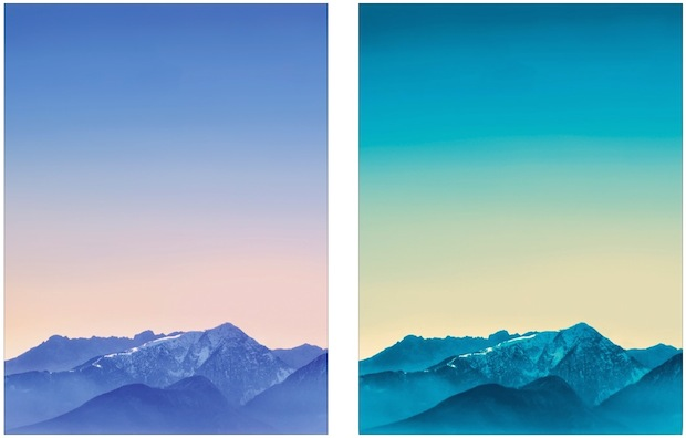 iPad mountain wallpapers for the iPhone