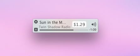 iTunes Micro Player