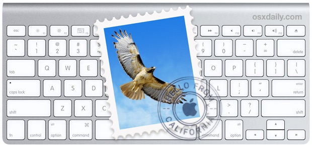 Navigate Mail in Mac OS X with the keyboard