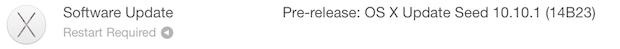 OS X 10-10-1 beta Seed 2