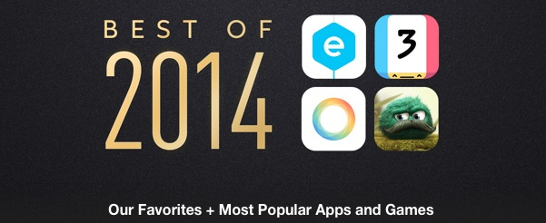 Best of 2014 Apps and Games from Apple