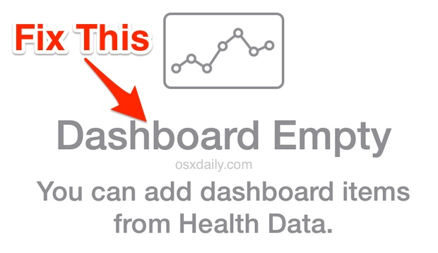 Fix for Health Dashboard Empty on iPhone
