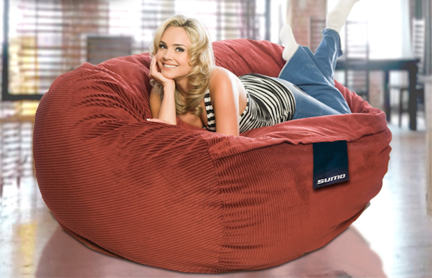 Giant Sumo beanbag chair