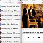 iTunes Radio Holiday Music Stations