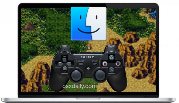 Use a Playstation 3 Controller with a Mac