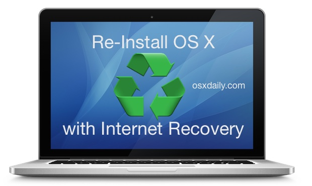 Reinstall OS X on a Mac with Internet Recovery