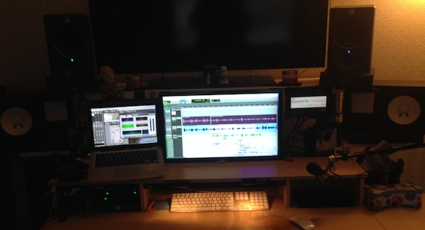 Audio Designer home workstation