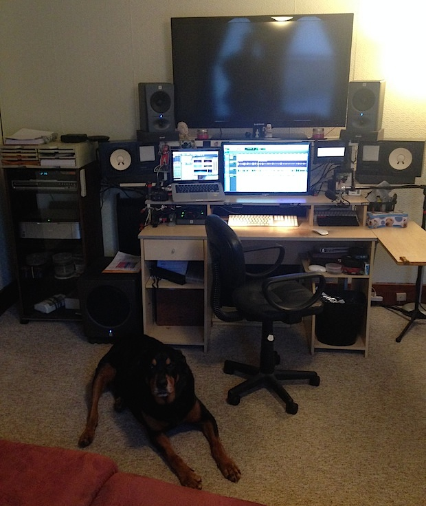 Audio designer Mac workstation