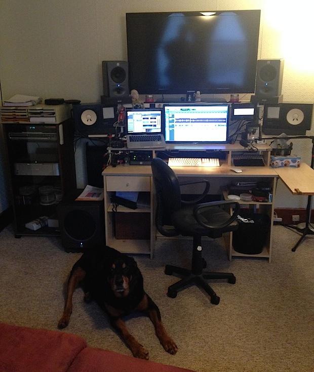 Audio designer Mac workstation