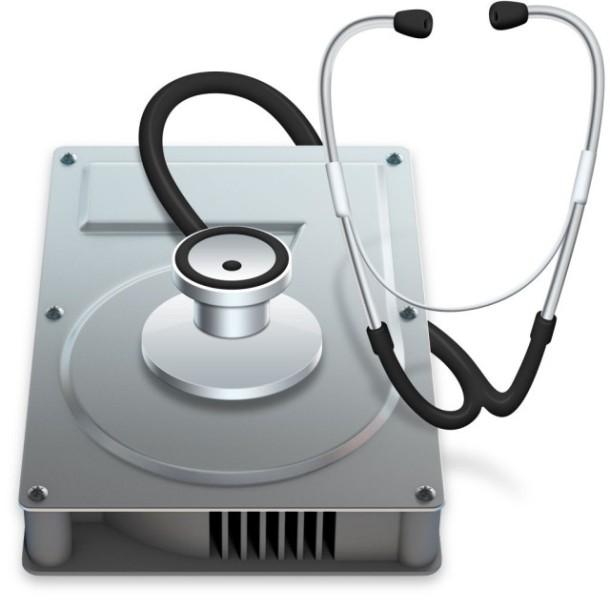 Disk Utility in Mac OS X