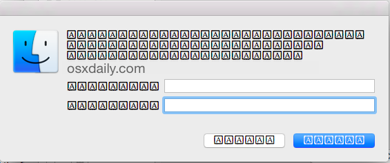 Fonts displaying erroneously in Mac OS X