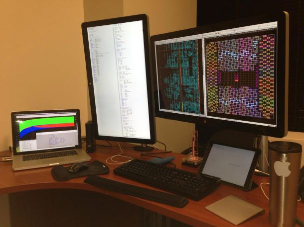 Mac Setup of a Senior Scientist and FPGA Developer