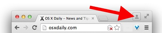 Hide the Chrome profile avatar switcher menu
