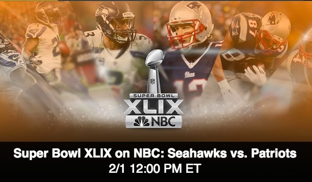 Super Bowl XLIX Live Streaming online