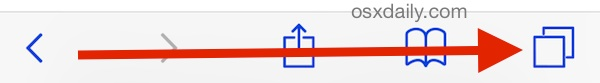 Access iCloud Bookmarks in Safari for iOS