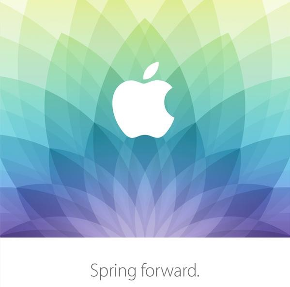 Apple Event Spring Forward Invite