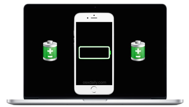 Check iPhone Signal Strength and Battery Life from Mac OS X