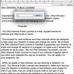 Select a line number in TextEdit documents for Mac OS X