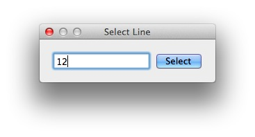 Line numbers in Text Edit selector tool