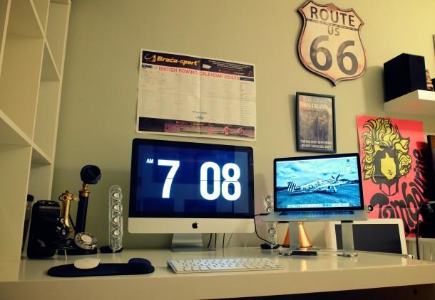Vintage inspired Mac Setup