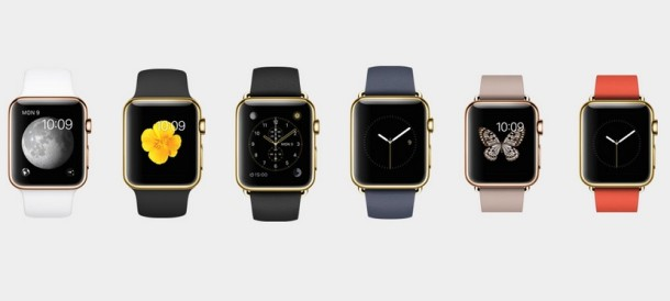 Apple Watch Gold models