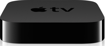 Apple TV with Apps and Siri