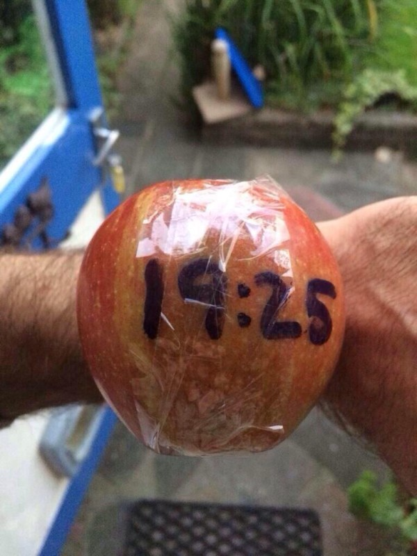 Apple Watch, literally