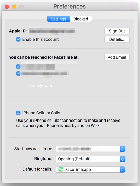 Enabling iPhone Cellular Calls on Mac