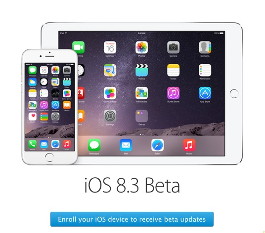 iOS beta program enrolling
