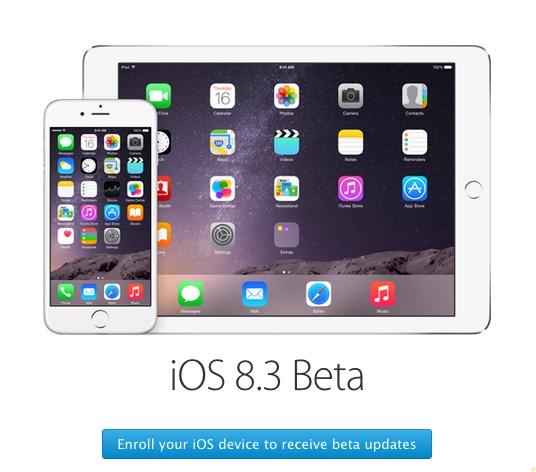 iOS beta program enrolling
