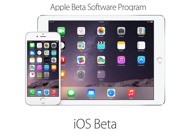iOS Public Beta program
