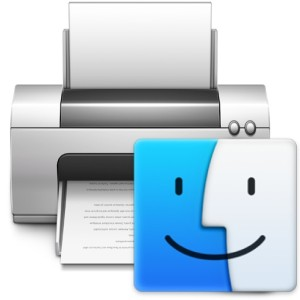 Printing jobs on the Mac