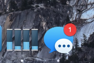 New message badge in OS X