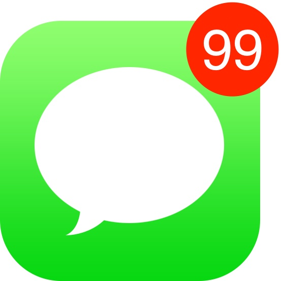 New Unread Messages badge